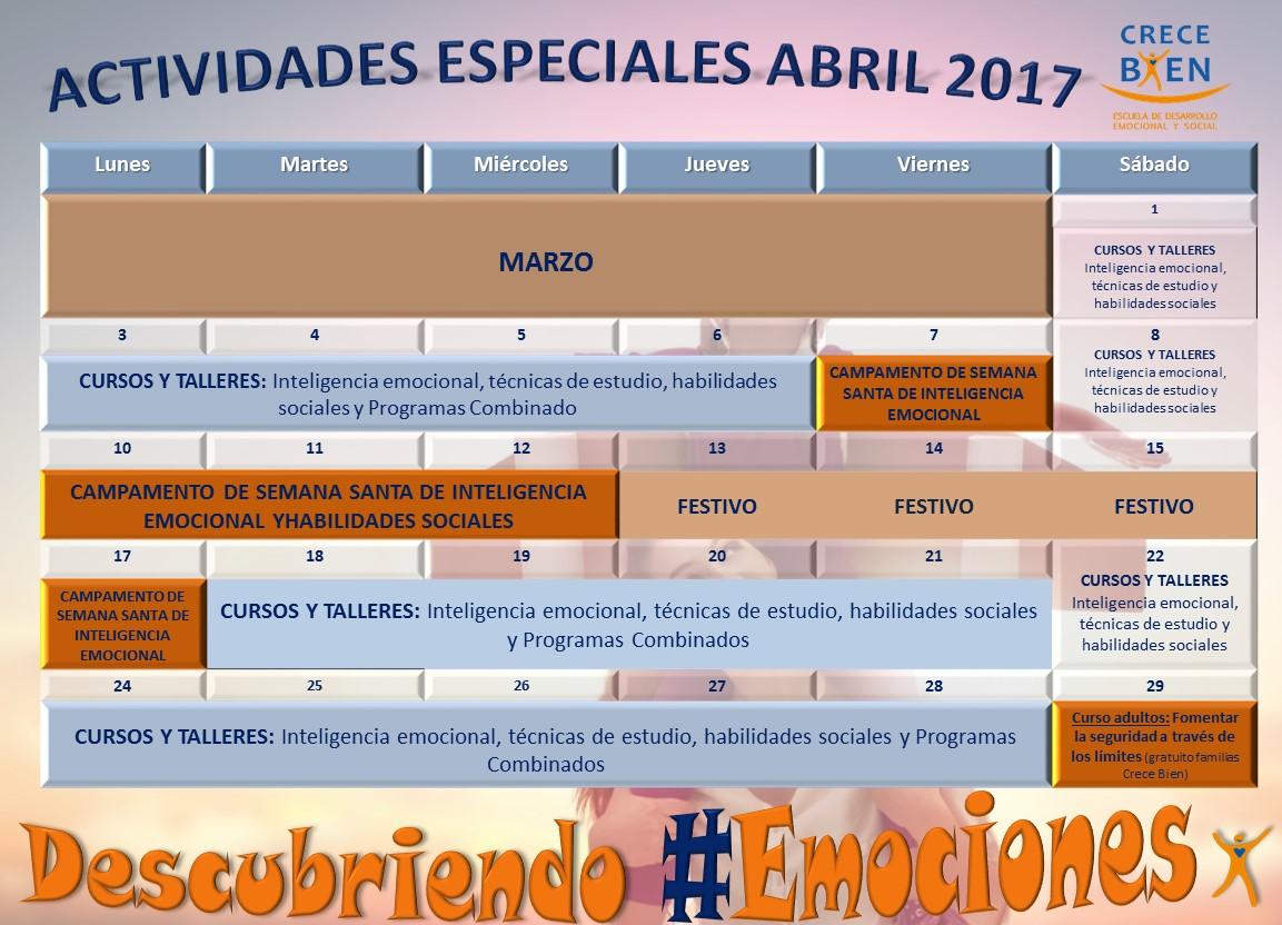 Cursos y Campamentos de Inteligencia Emocional para niños y Adolescentes. Psicología en Madrid