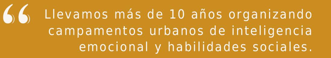 campamentos urbanos en Madrid